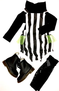 Beetlejuice Bubble Romper