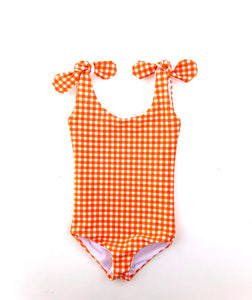 Dreamsicle Tie One Piece
