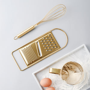 Gold Kitchen Baking Set - infoAlamaison