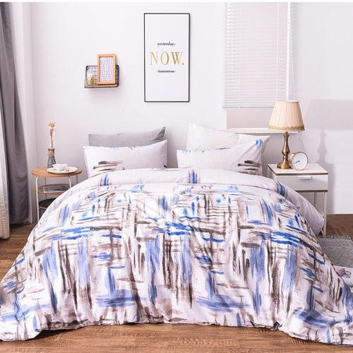Abstract Geometric Duvet - infoAlamaison