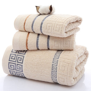 Luxury Cotton Towel Set - infoAlamaison