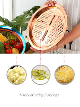 Load image into Gallery viewer, Gold 5 in 1 Kitchen Accessory - infoAlamaison