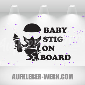 Baby STIG on board