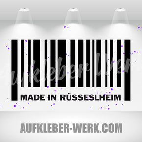 MADE IN RÜSSELSHEIM
