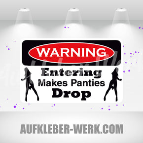 Warning - Entering Drop