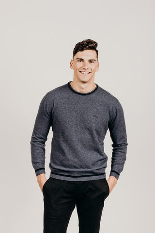 Merinosilk Crew-Neck Sweater - Kapeka
