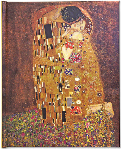 The Kiss/ Gustav Klimt / Large Artful Journals