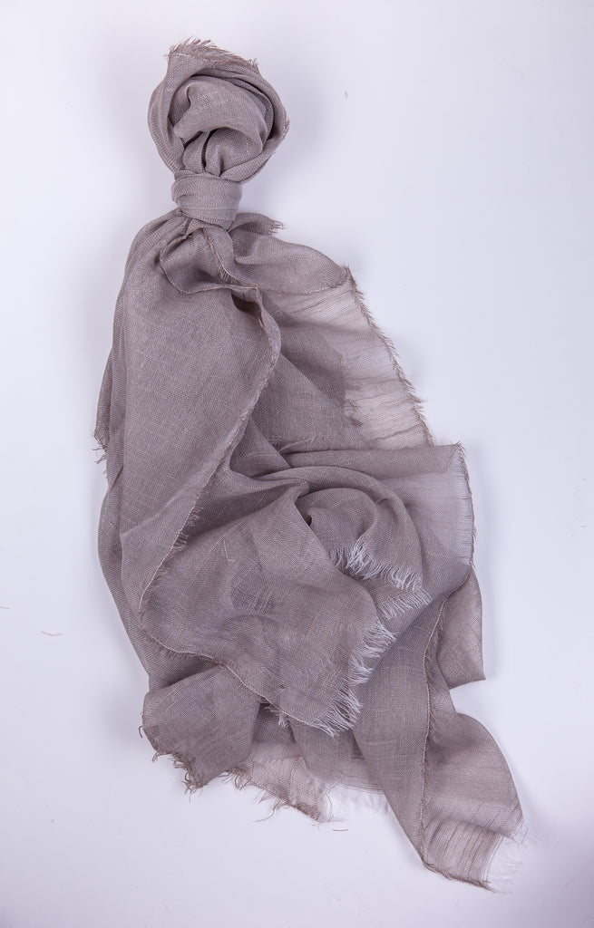 Whisper Linen Scarf Natural