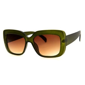 The Block Sunglasses - Olive Green