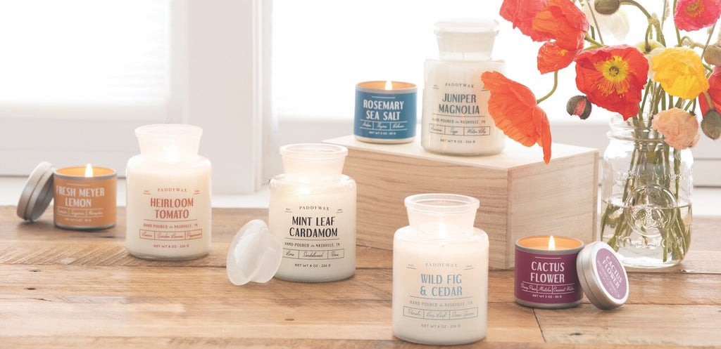 White Apothecary Candle Collection