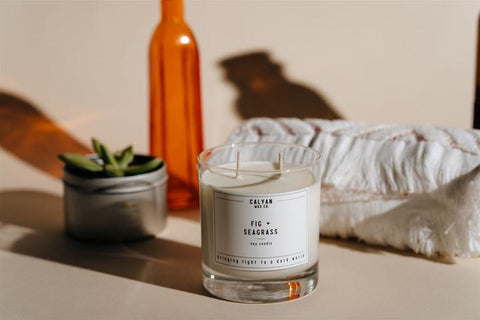Fig & Seagrass Soy Candle