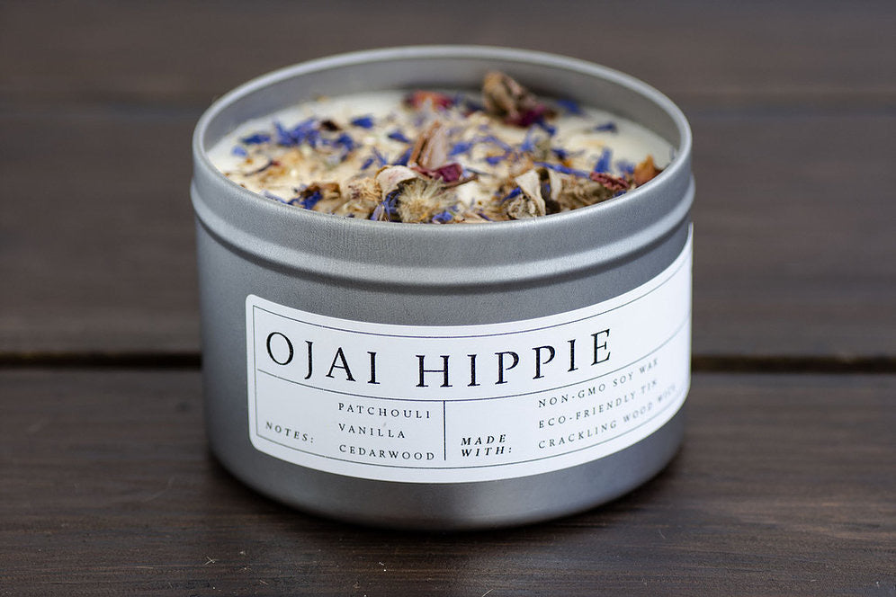 Ohm Wood Wick Candles