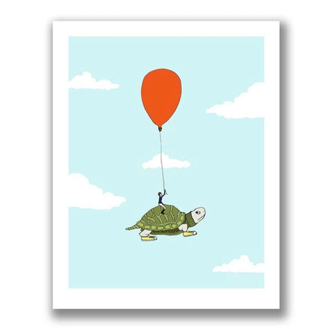 Turtle & The Red Balloon Artist Collection
