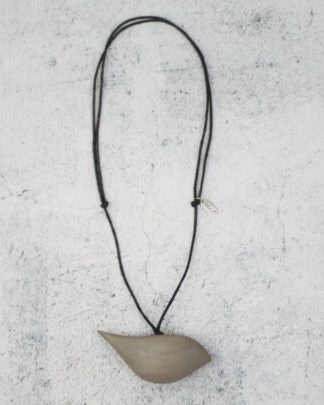 Grey Robin Necklace