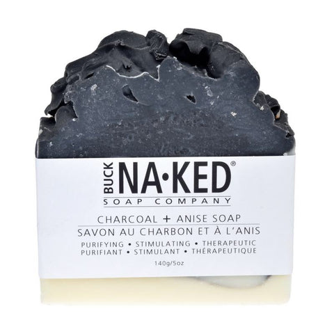 Buck Naked Vegan Soap Charcoal & Anise