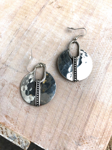 Aztec Design Earrings