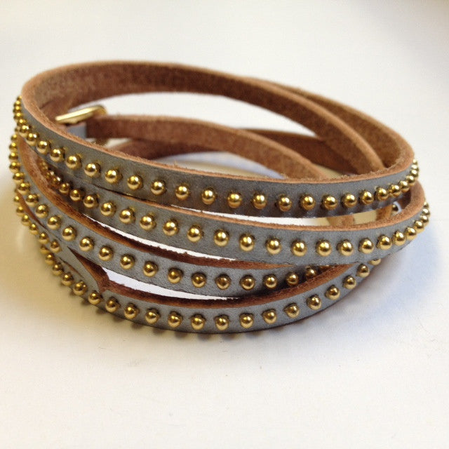 WrapAround Leather Bracelet