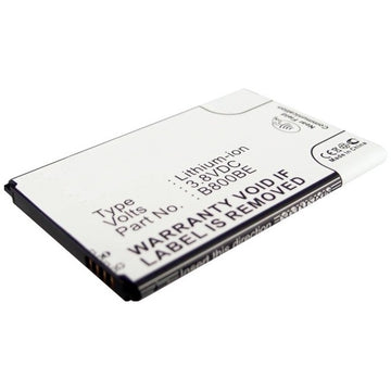 Galaxy Note 3 - CE-SGN9000 Cell phone replacement battery Samsung 3200mAh