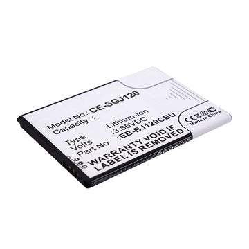 Galaxy J1 - CE-SGJ120 Cell phone replacement battery Samsung 1900mAh