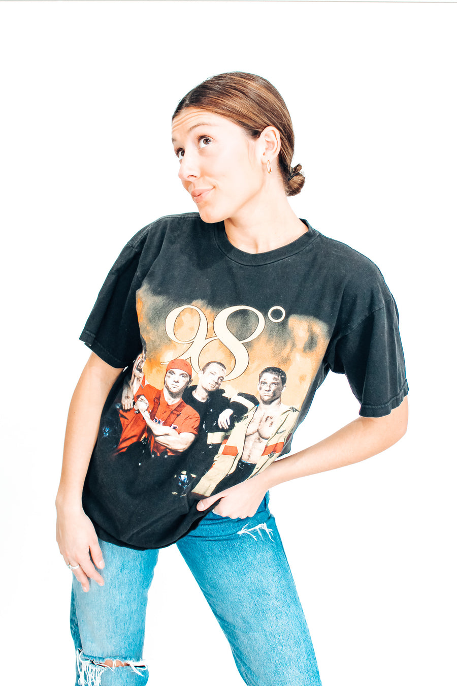 98 Degrees 1999 Tour Tee - L