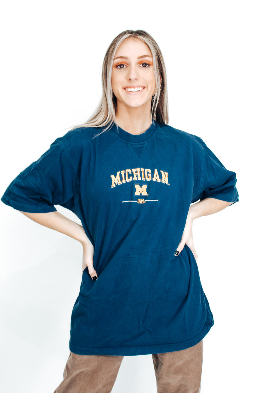 University of Michigan Vintage Tee - L