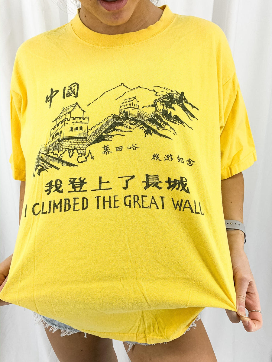 Vintage Great Wall Tee - L