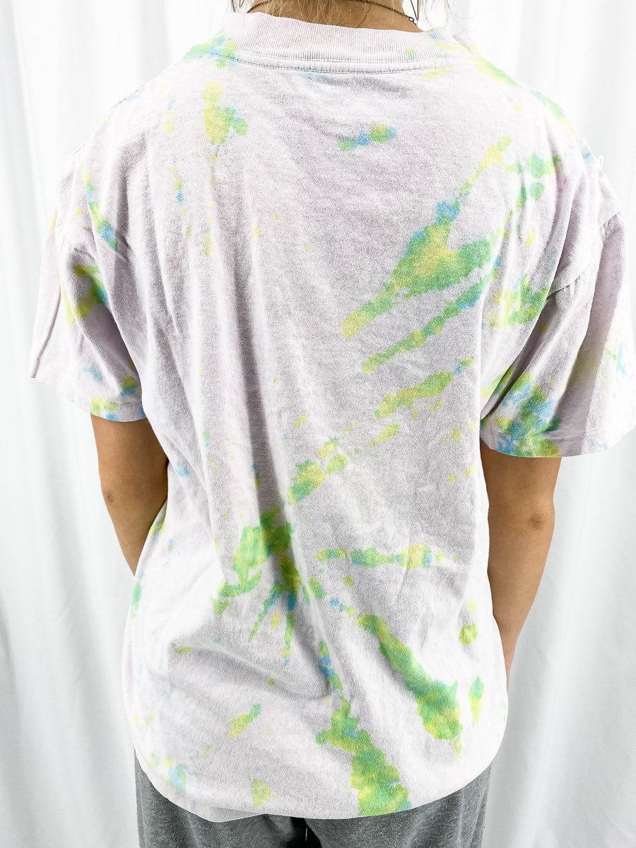 Michigan State University Vintage Tie Dye Tee - L