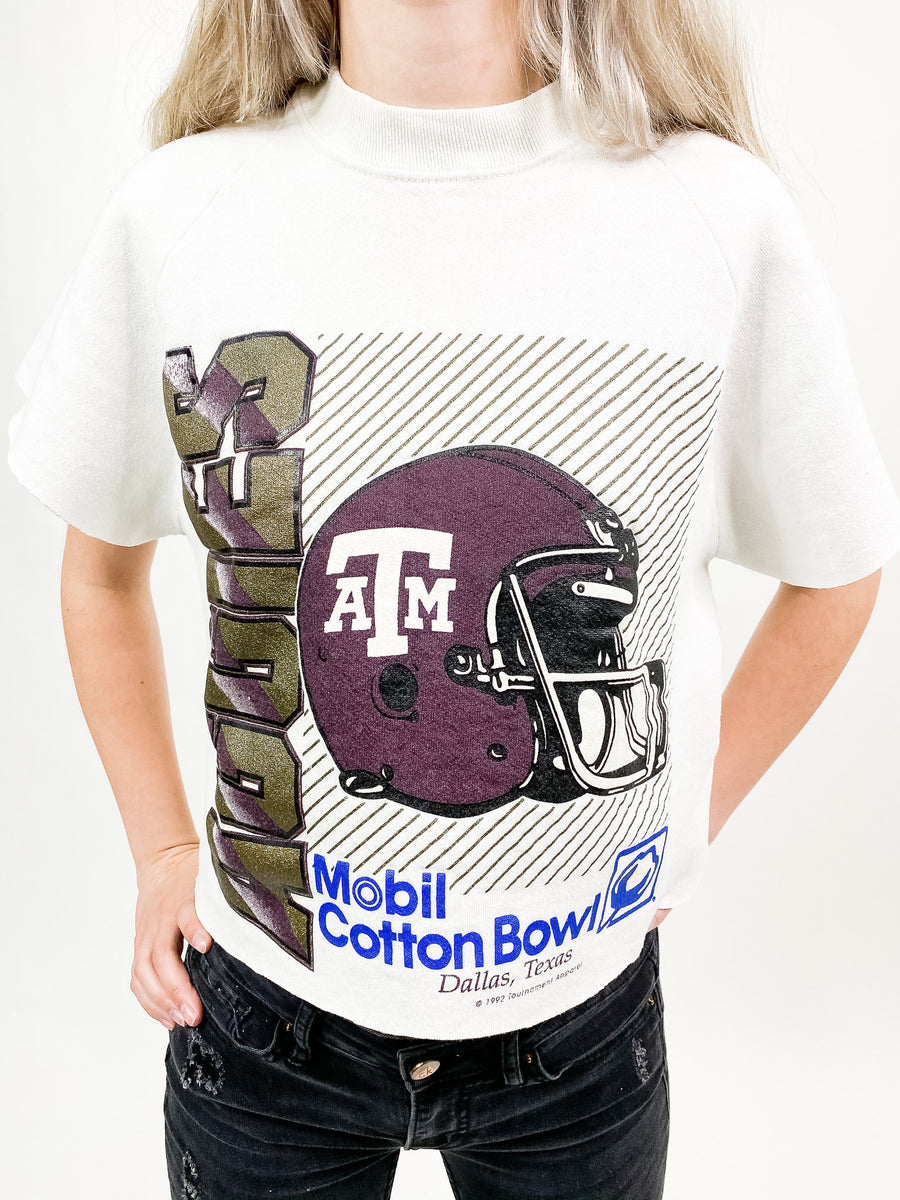 Vintage Texas A&M University Sweatshirt - M