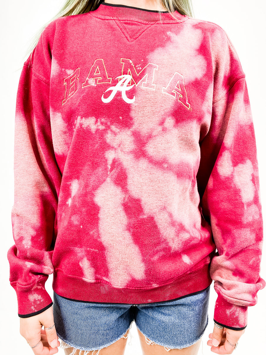 Vintage University of Alabama Tie Dye Sweatshirt - M