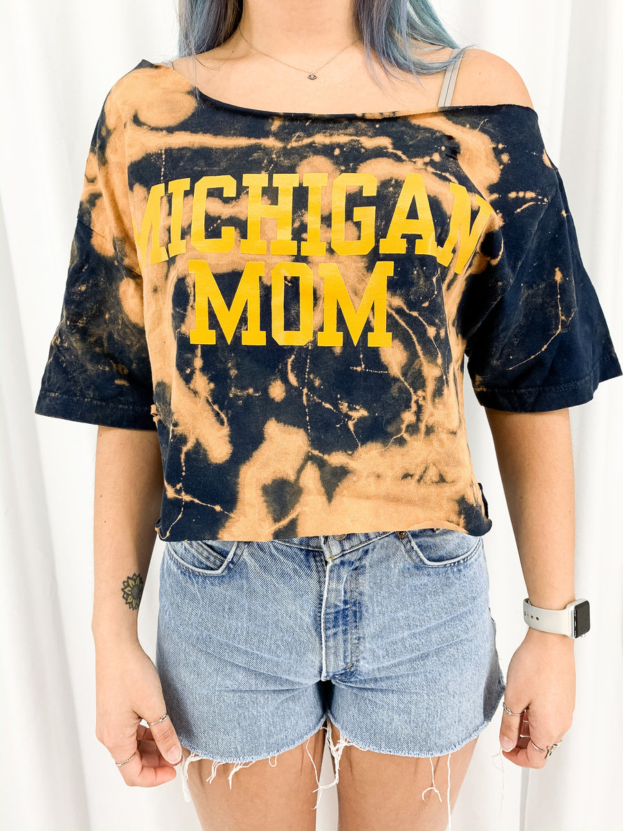 University of Michigan Acid Wash Crop - M/L