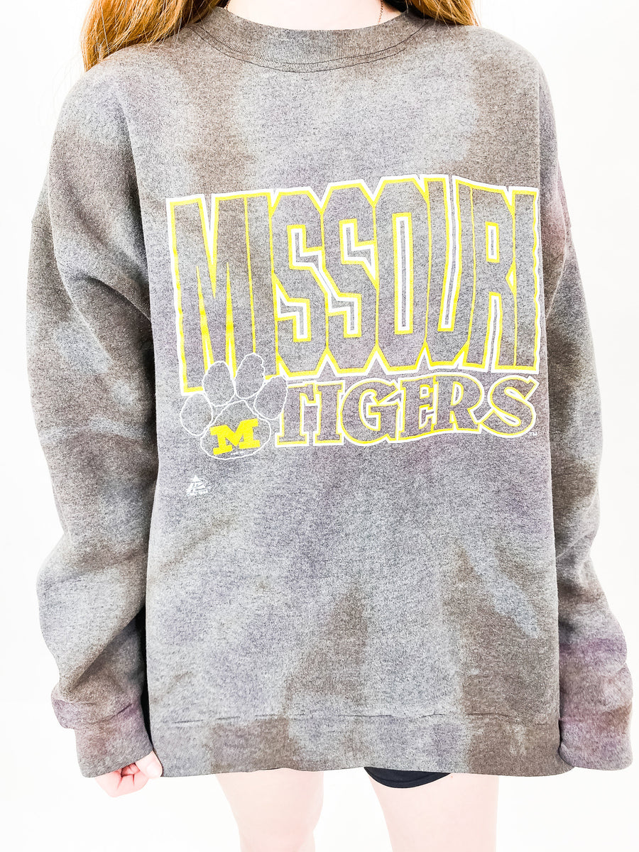 University of Missouri Tie Dye Sweatshirt - XXL