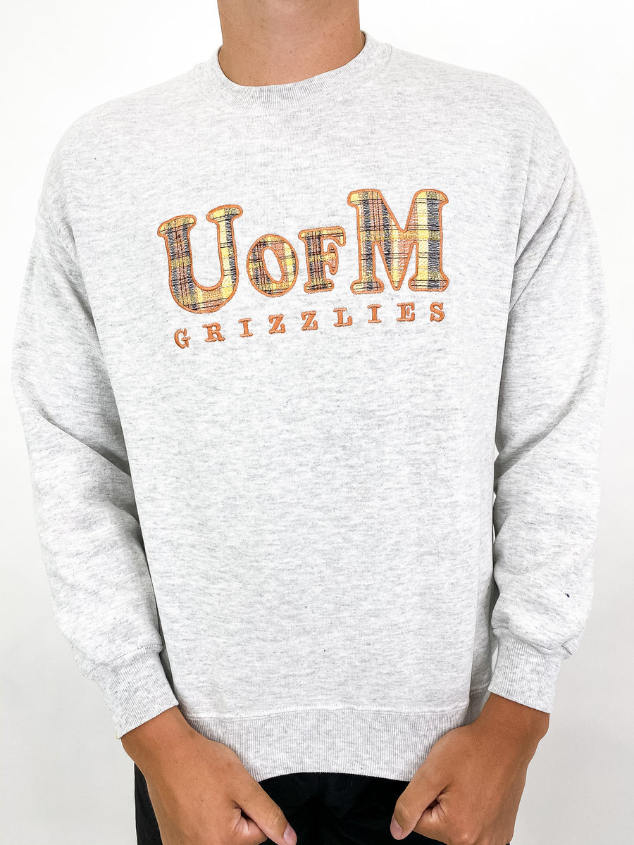 Vintage University of Montana Sweatshirt - L
