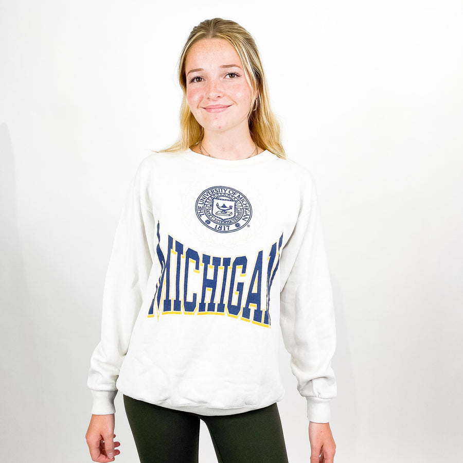 Vintage University of Michigan Sweatshirt - M