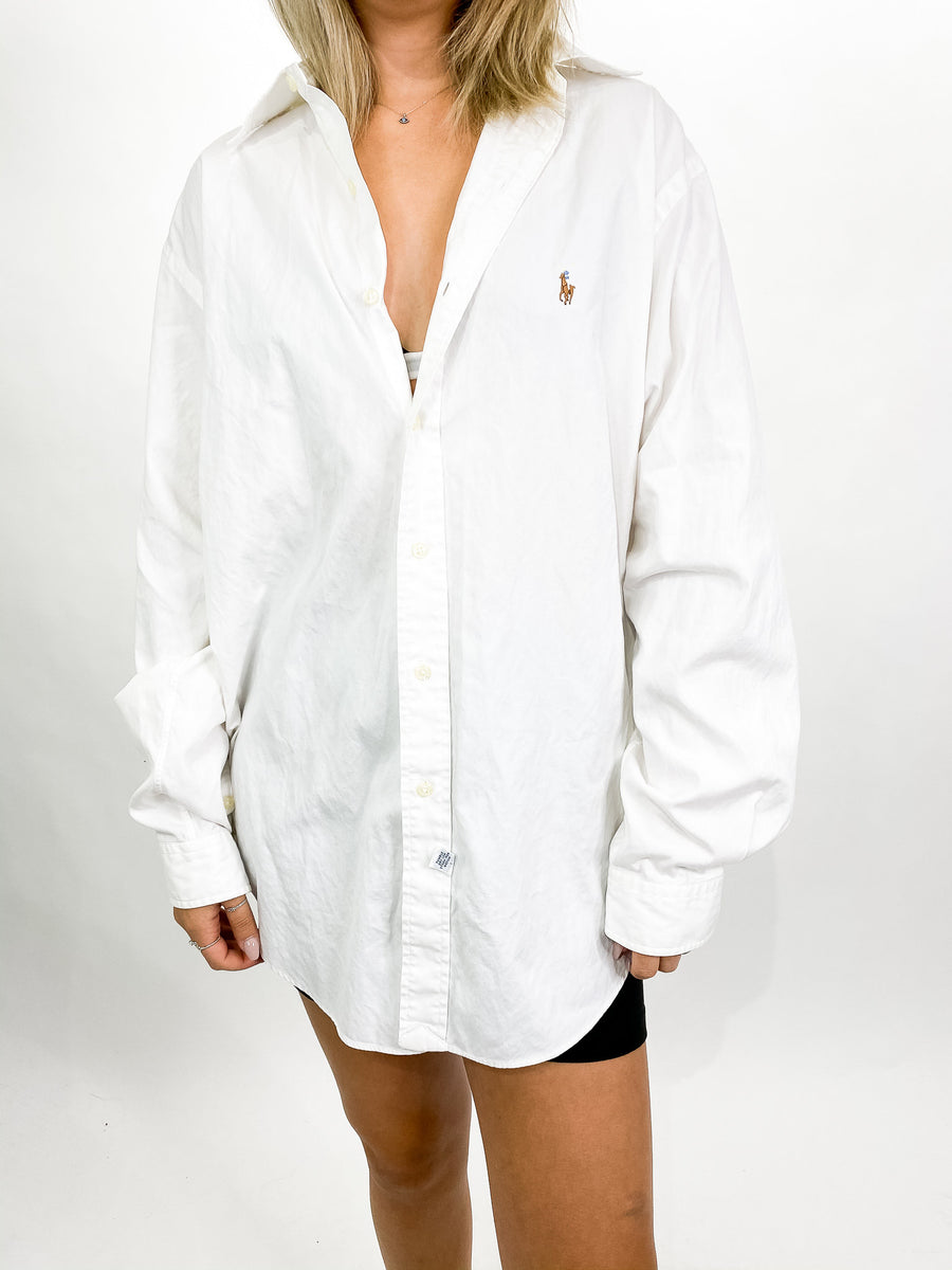 Vintage Ralph Lauren Button Down - XL