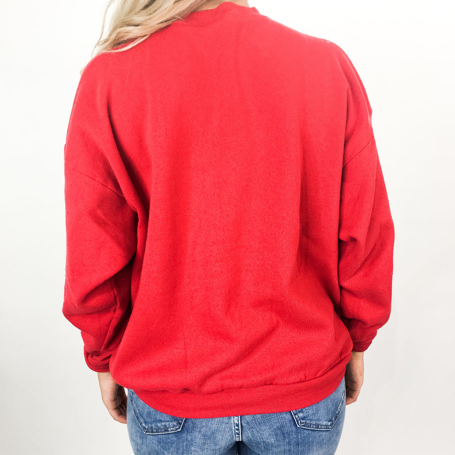 Vintage University of Nebraska Sweatshirt - L