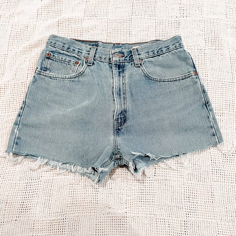 Levi's 505 Vintage Cut Off Shorts | Size 29 0278