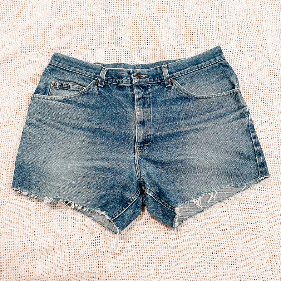Lee Vintage Cut Off Shorts | Size 33 0238