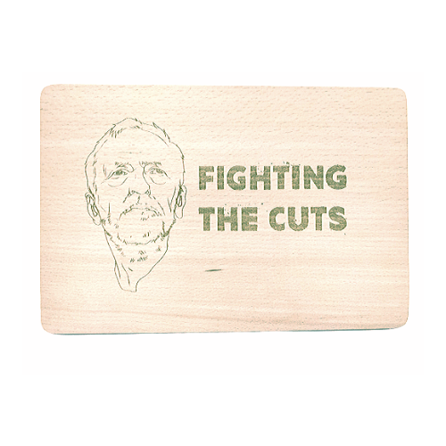 Personalised Chopping Board- Dinner is coming