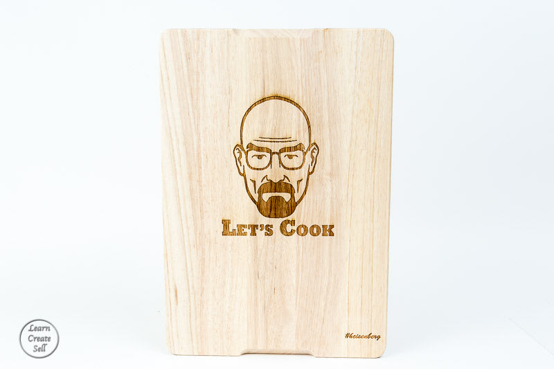 Personalised Chopping Board- Let's Cook