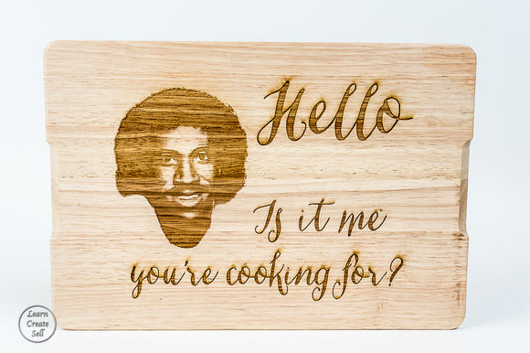 Personalised Chopping Board- Lionel