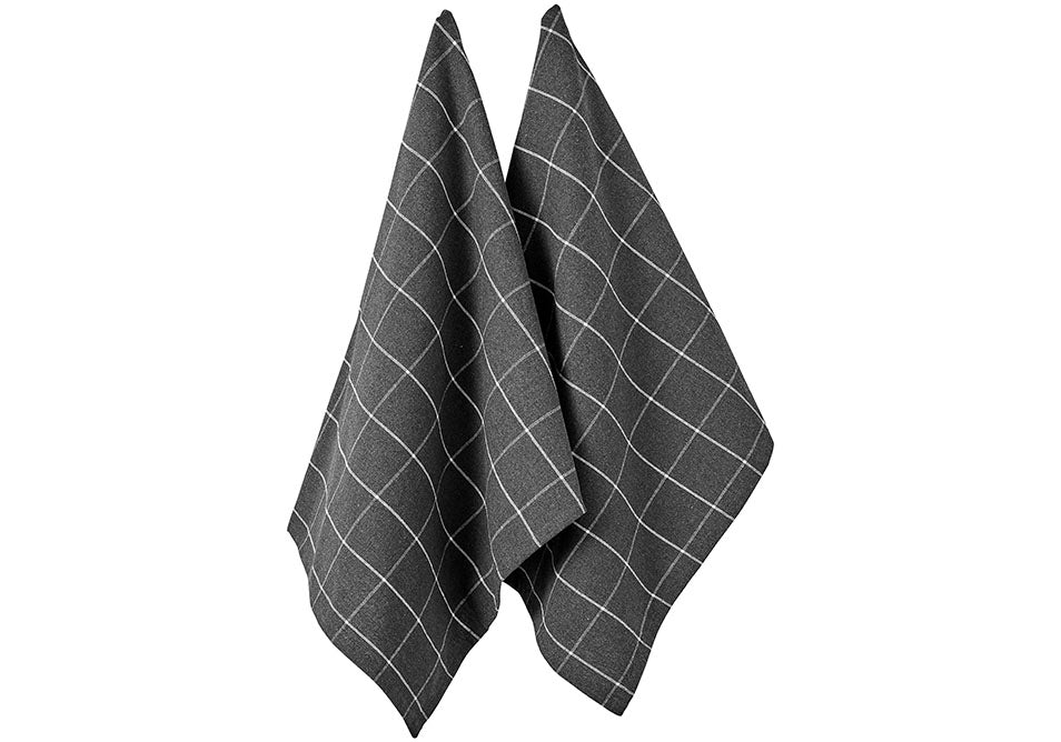 Eco Check 2pk Kitchen Towel