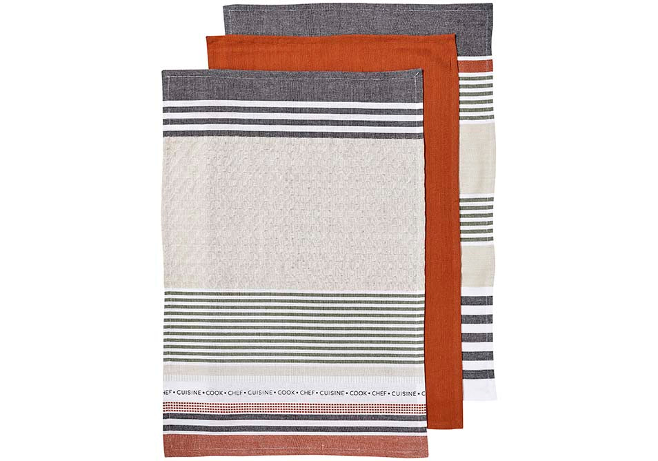 Intrinsic 3pk Kitchen Towel