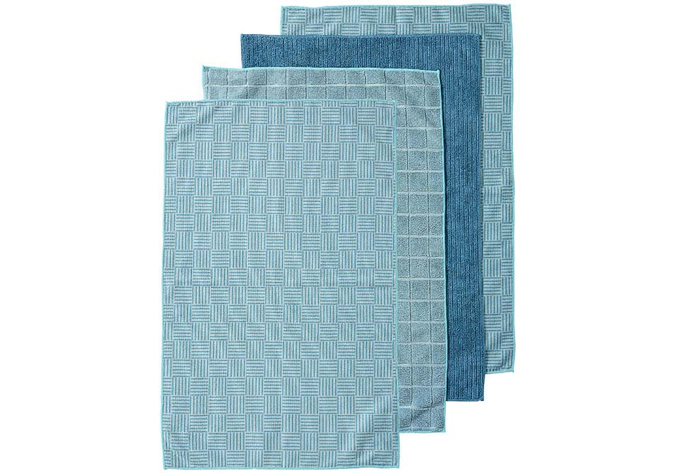 Benson Microfibre 4pk Kitchen Towel