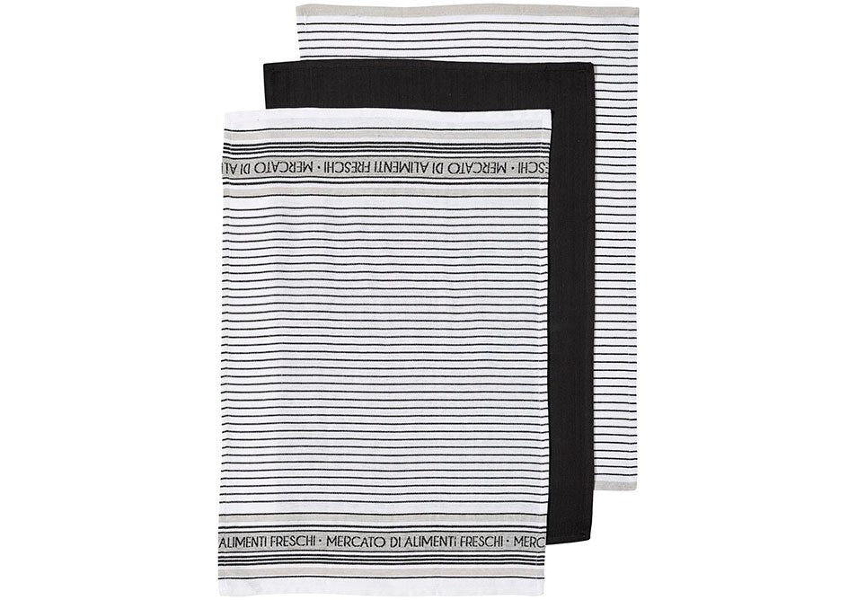 Prof. Series III Jumbo Stripe Kitchen Towel