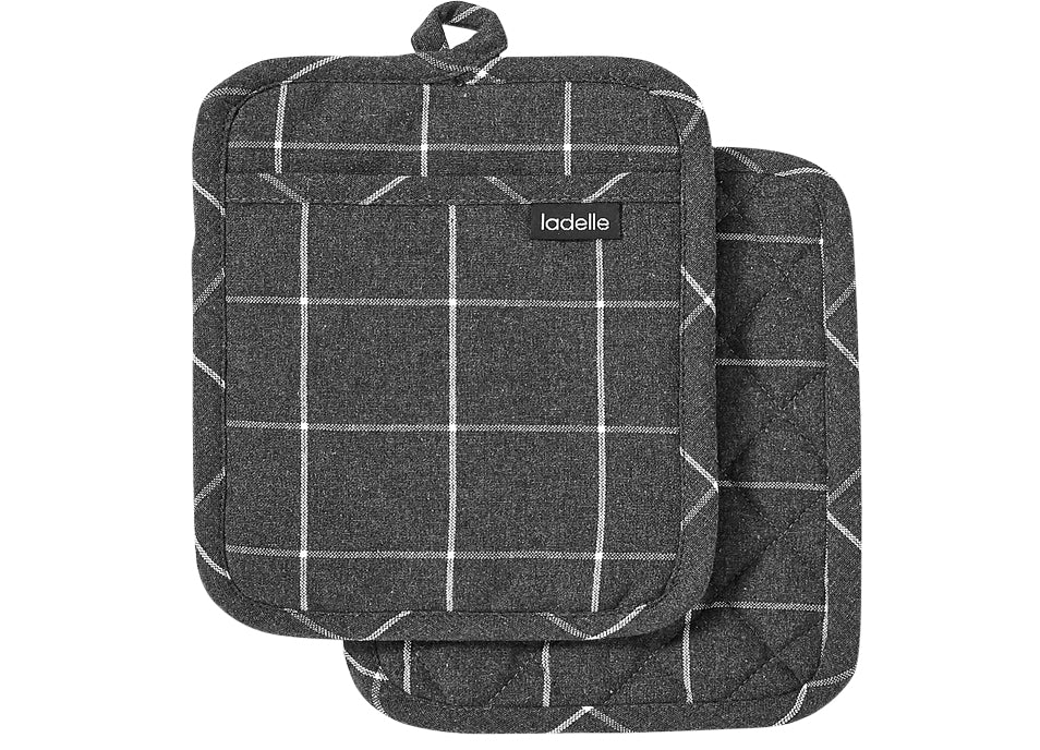 Eco Check 2pk Pot Holder