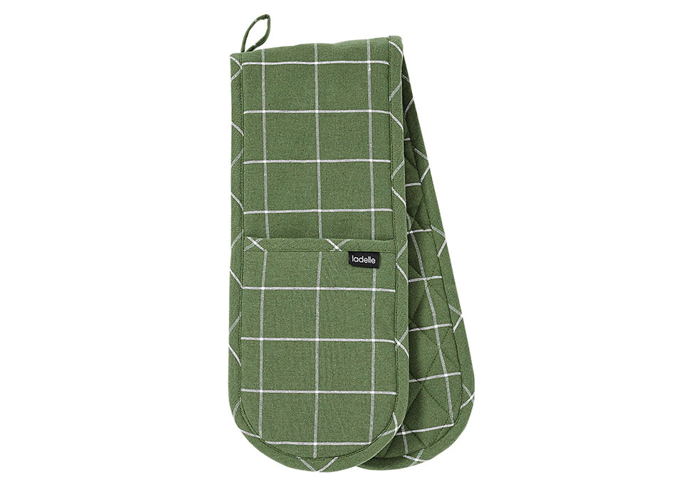 Eco Check  Double Oven Mitt