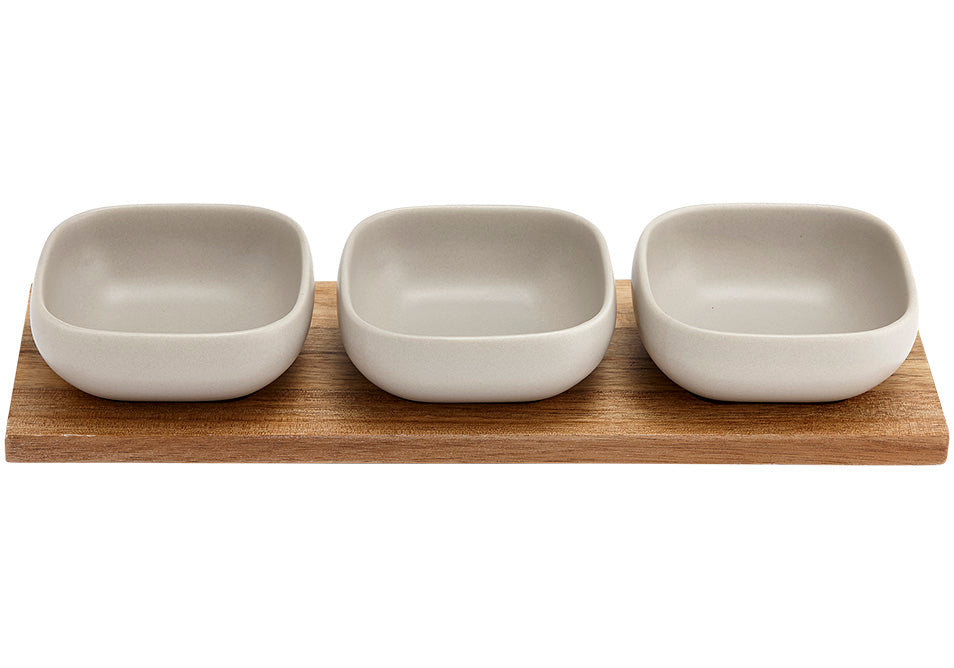 Essentials 4pce Bowl Set
