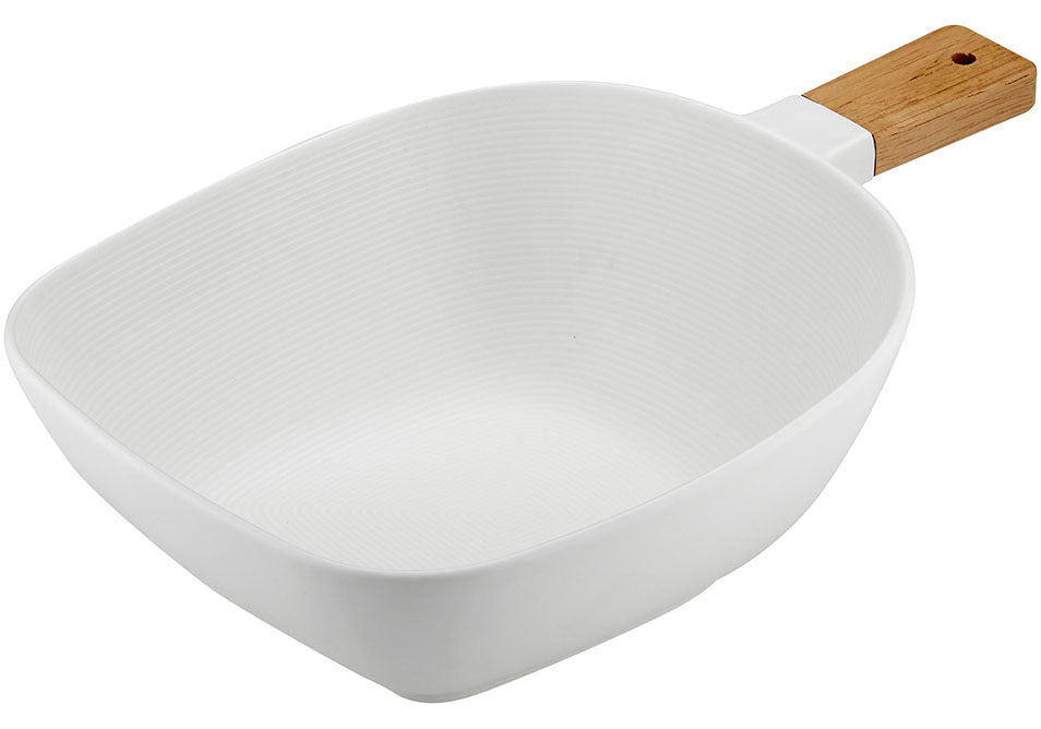 Linear Texture Large Bowl Serve Stick