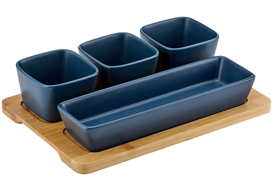 Entertainer 4pce Oblong Bowl Set