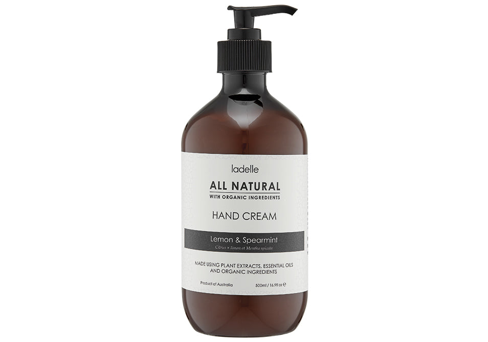 All Natural 500ml Hand Cream